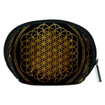 Bring Me The Horizon Cover Album Gold Accessory Pouches (Medium)  Back