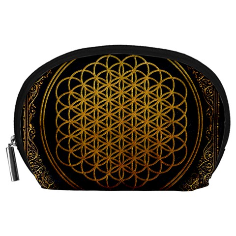 Bring Me The Horizon Cover Album Gold Accessory Pouches (Large)
