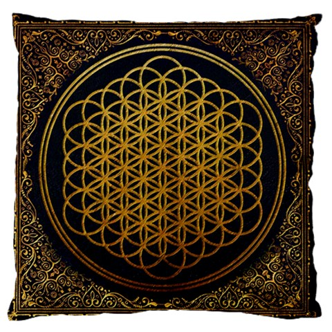 Bring Me The Horizon Cover Album Gold Standard Flano Cushion Case (Two Sides)