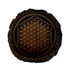 Bring Me The Horizon Cover Album Gold Standard 15  Premium Flano Round Cushions