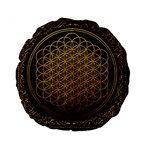 Bring Me The Horizon Cover Album Gold Standard 15  Premium Flano Round Cushions Back