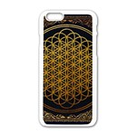 Bring Me The Horizon Cover Album Gold Apple iPhone 6/6S White Enamel Case Front