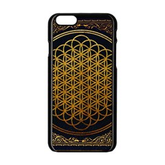 Bring Me The Horizon Cover Album Gold Apple iPhone 6/6S Black Enamel Case
