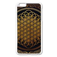 Bring Me The Horizon Cover Album Gold Apple Iphone 6 Plus/6s Plus Enamel White Case