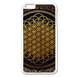 Bring Me The Horizon Cover Album Gold Apple iPhone 6 Plus/6S Plus Enamel White Case Front