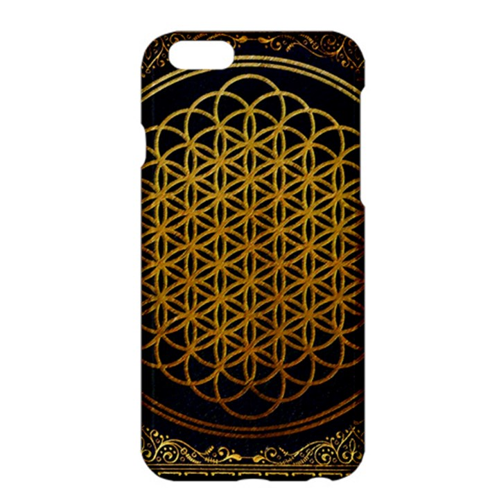 Bring Me The Horizon Cover Album Gold Apple iPhone 6 Plus/6S Plus Hardshell Case