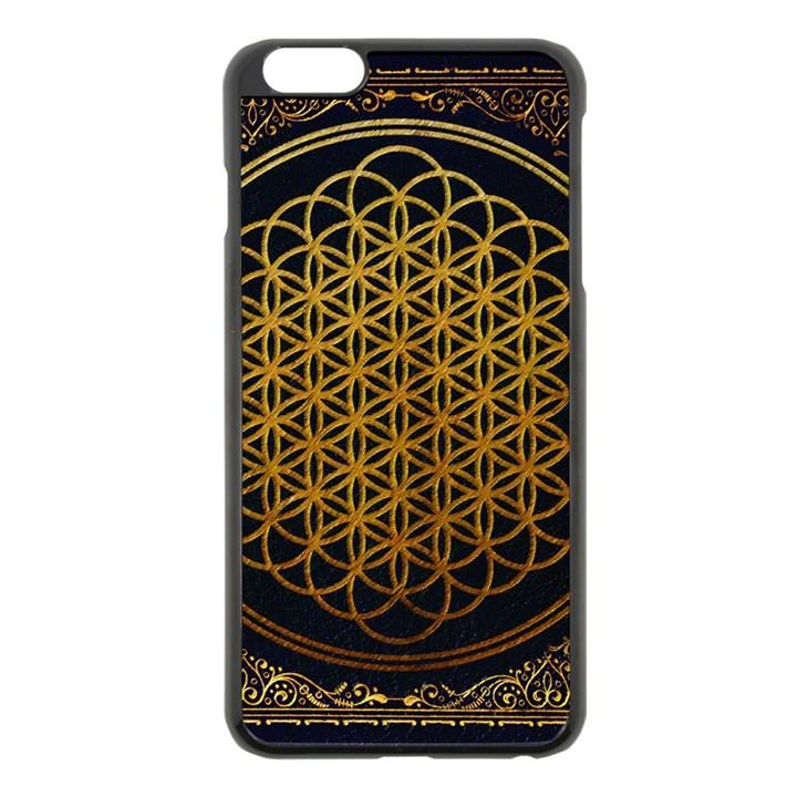 Bring Me The Horizon Cover Album Gold Apple iPhone 6 Plus/6S Plus Black Enamel Case