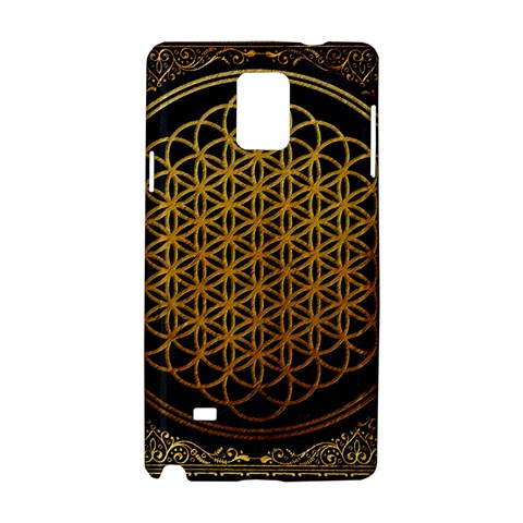 Bring Me The Horizon Cover Album Gold Samsung Galaxy Note 4 Hardshell Case