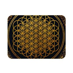 Bring Me The Horizon Cover Album Gold Double Sided Flano Blanket (mini)