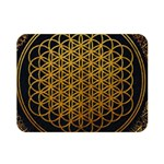 Bring Me The Horizon Cover Album Gold Double Sided Flano Blanket (Mini)  35 x27 Blanket Back