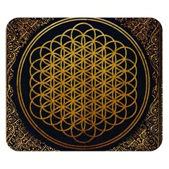 Bring Me The Horizon Cover Album Gold Double Sided Flano Blanket (Small)