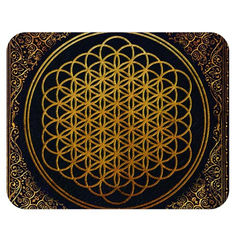 Bring Me The Horizon Cover Album Gold Double Sided Flano Blanket (Medium)