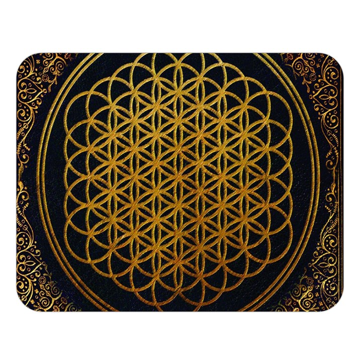 Bring Me The Horizon Cover Album Gold Double Sided Flano Blanket (Large)