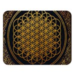 Bring Me The Horizon Cover Album Gold Double Sided Flano Blanket (Large)   Blanket Back
