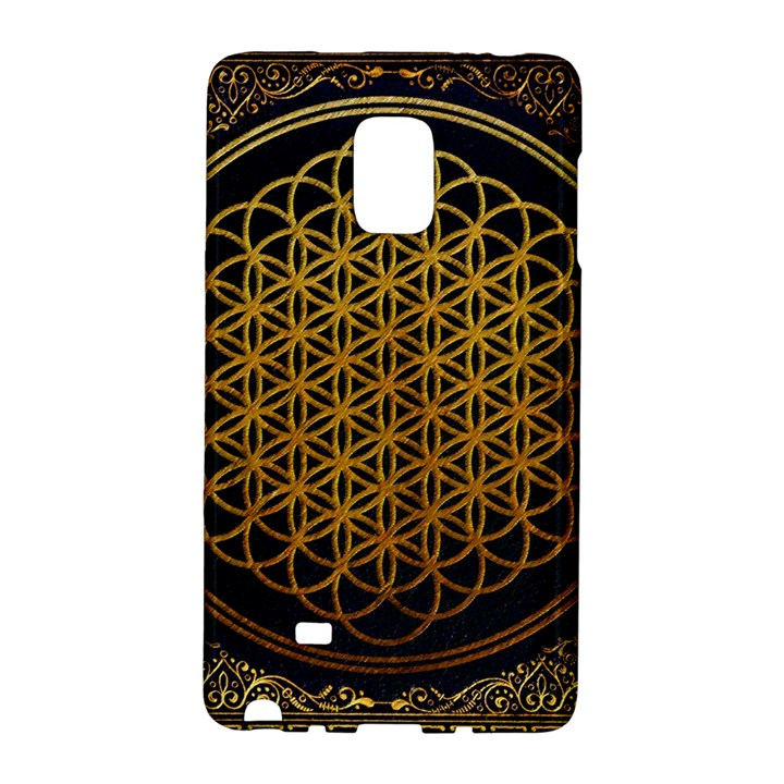 Bring Me The Horizon Cover Album Gold Galaxy Note Edge