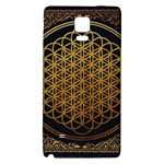 Bring Me The Horizon Cover Album Gold Galaxy Note 4 Back Case Front