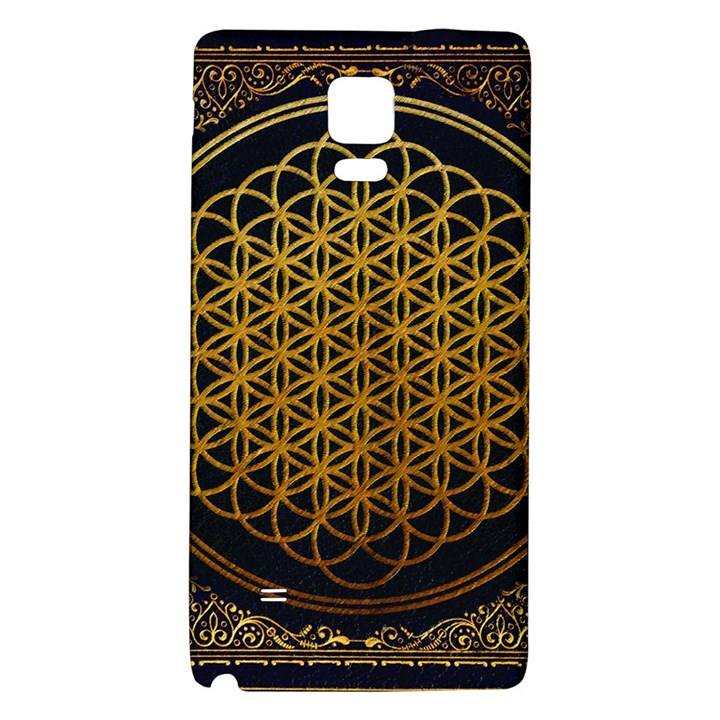 Bring Me The Horizon Cover Album Gold Galaxy Note 4 Back Case