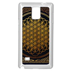 Bring Me The Horizon Cover Album Gold Samsung Galaxy Note 4 Case (White)