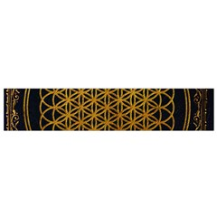 Bring Me The Horizon Cover Album Gold Flano Scarf (small)