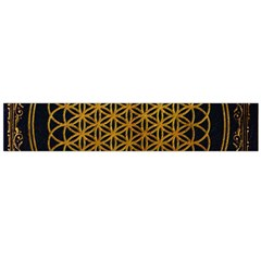 Bring Me The Horizon Cover Album Gold Flano Scarf (large)