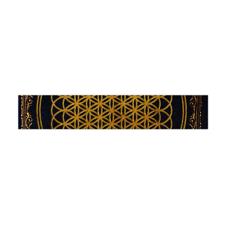Bring Me The Horizon Cover Album Gold Flano Scarf (Mini)