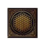 Bring Me The Horizon Cover Album Gold Satin Bandana Scarf Front