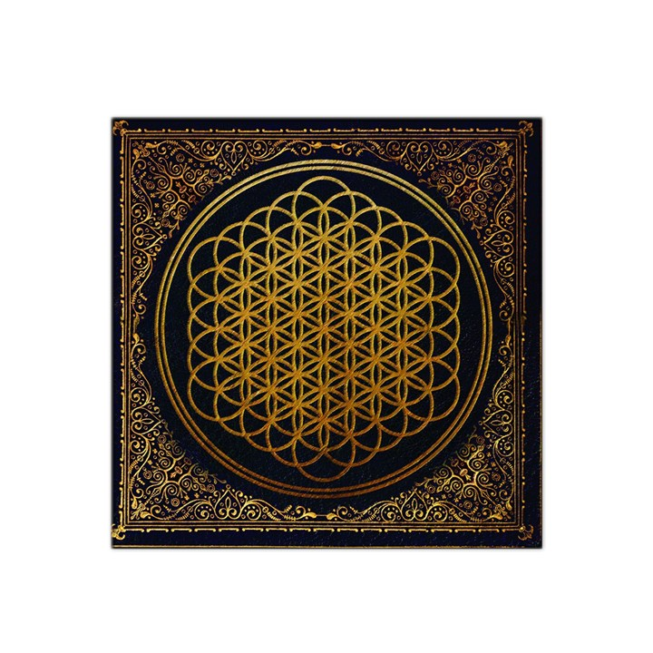 Bring Me The Horizon Cover Album Gold Satin Bandana Scarf