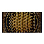 Bring Me The Horizon Cover Album Gold Satin Shawl Front