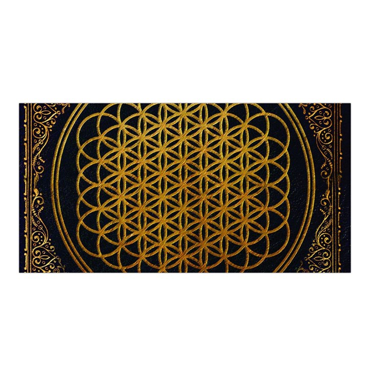 Bring Me The Horizon Cover Album Gold Satin Shawl