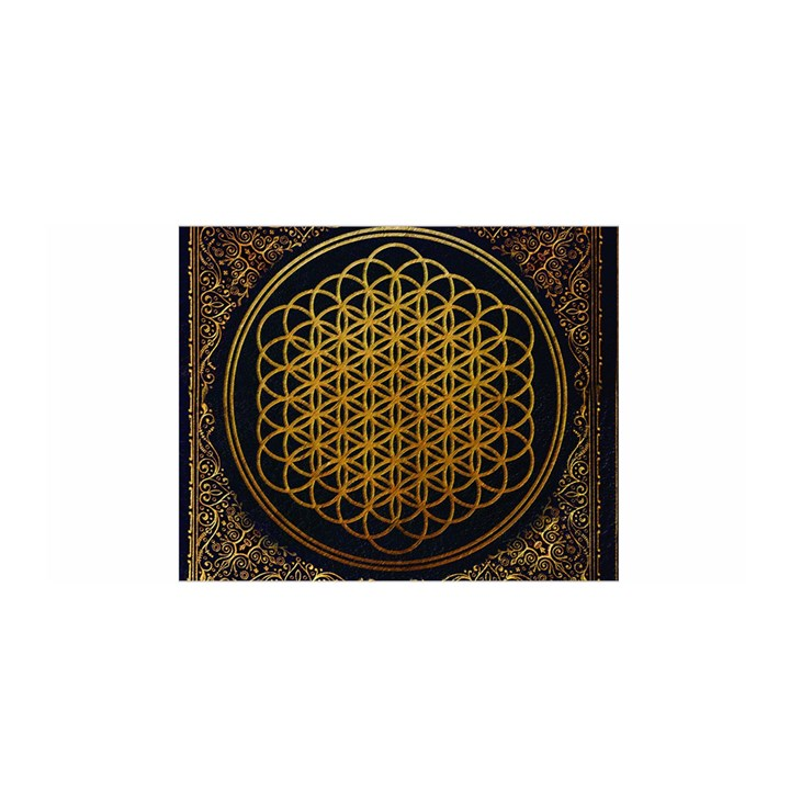 Bring Me The Horizon Cover Album Gold Satin Wrap