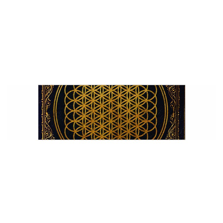 Bring Me The Horizon Cover Album Gold Satin Scarf (Oblong)