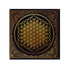 Bring Me The Horizon Cover Album Gold Small Satin Scarf (Square)