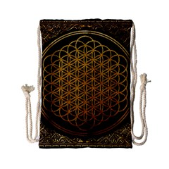 Bring Me The Horizon Cover Album Gold Drawstring Bag (Small)
