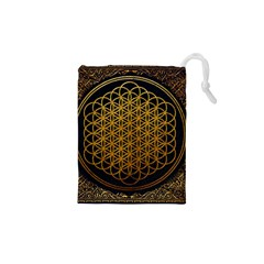 Bring Me The Horizon Cover Album Gold Drawstring Pouches (XS)