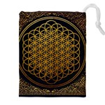 Bring Me The Horizon Cover Album Gold Drawstring Pouches (XXL) Front