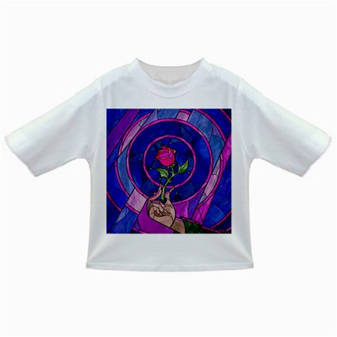 Enchanted Rose Stained Glass Infant/Toddler T-Shirts