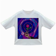 Enchanted Rose Stained Glass Infant/toddler T Shirts
