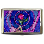 Enchanted Rose Stained Glass Cigarette Money Cases Front