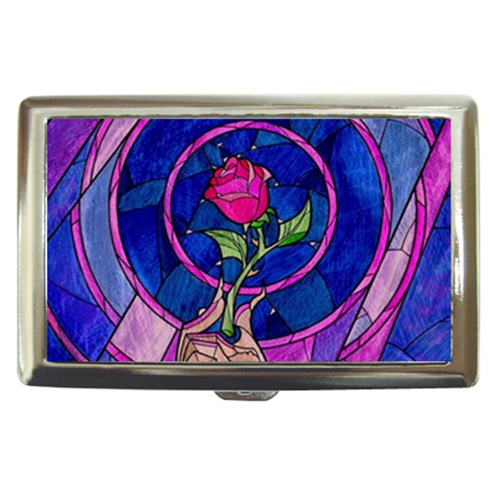 Enchanted Rose Stained Glass Cigarette Money Cases