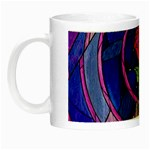 Enchanted Rose Stained Glass Night Luminous Mugs Left