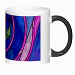 Enchanted Rose Stained Glass Morph Mugs Right