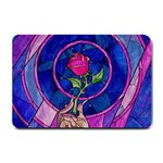 Enchanted Rose Stained Glass Small Doormat  24 x16 Door Mat - 1