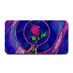 Enchanted Rose Stained Glass Medium Bar Mats 16 x8.5 Bar Mat - 1
