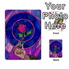 Enchanted Rose Stained Glass Multi Purpose Cards (rectangle)