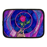 Enchanted Rose Stained Glass Netbook Case (Medium)  Front