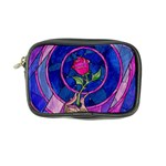 Enchanted Rose Stained Glass Coin Purse Front
