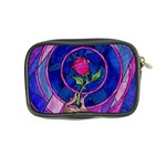 Enchanted Rose Stained Glass Coin Purse Back