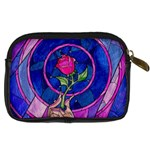 Enchanted Rose Stained Glass Digital Camera Cases Back