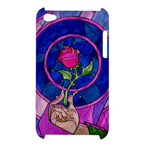 Enchanted Rose Stained Glass Apple iPod Touch 4