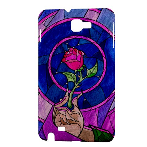 Enchanted Rose Stained Glass Samsung Galaxy Note 1 Hardshell Case
